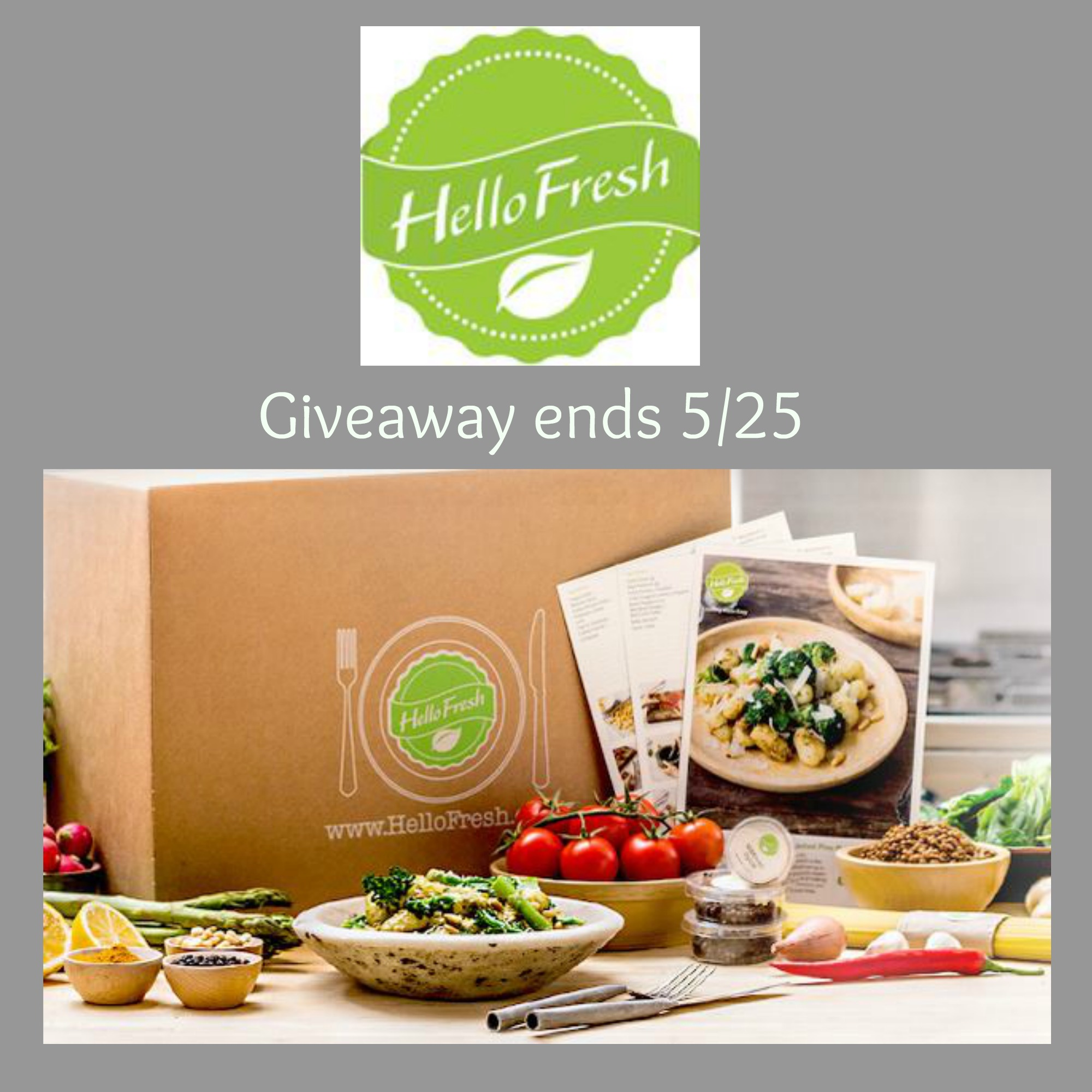 HelloFresh Box Filled With Fresh Delicious Food # ...