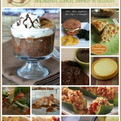 11 Elite Recipes- Breakfast, Lunch, Dinner and Dessert
