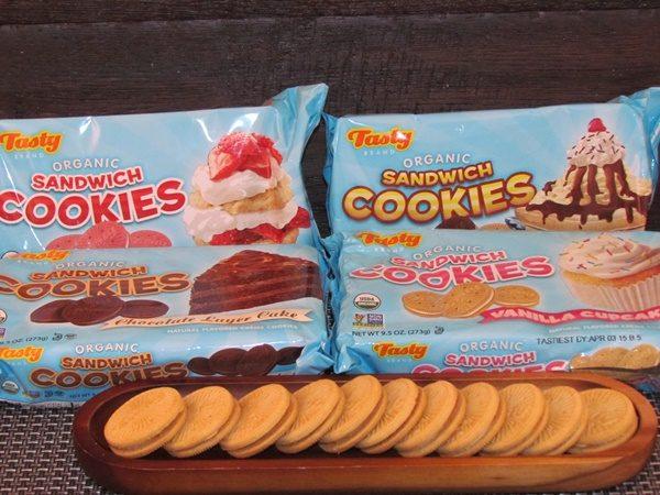 Tasty snacks cookies