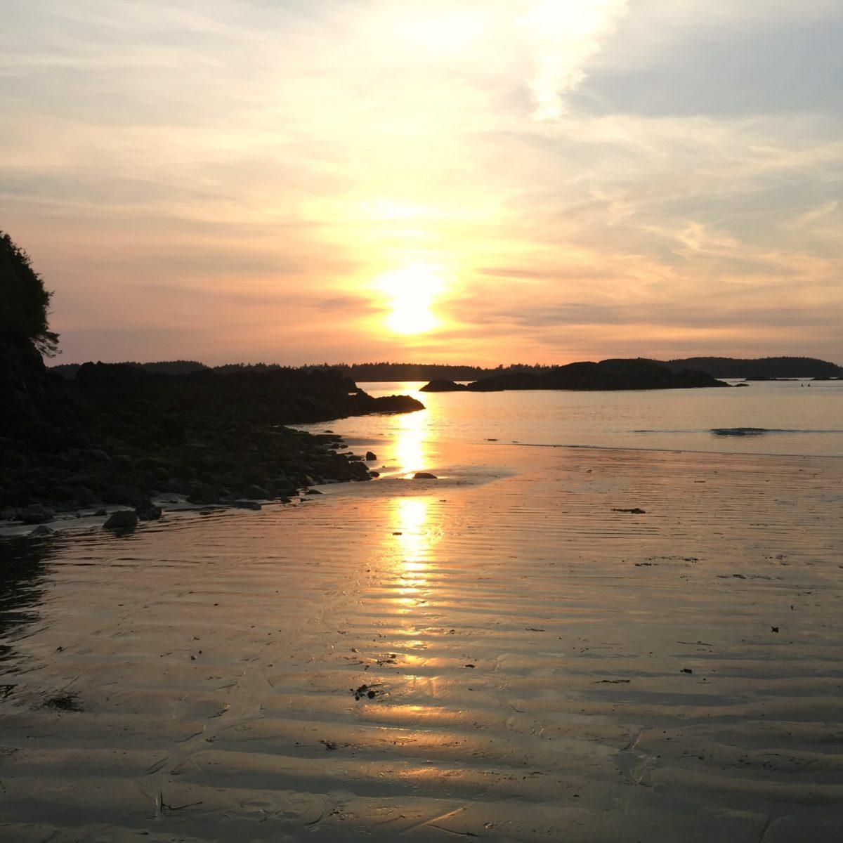 Tofino, beach, ocean, travel, beachfront, vancouver island, pet friendly, resort, sunset