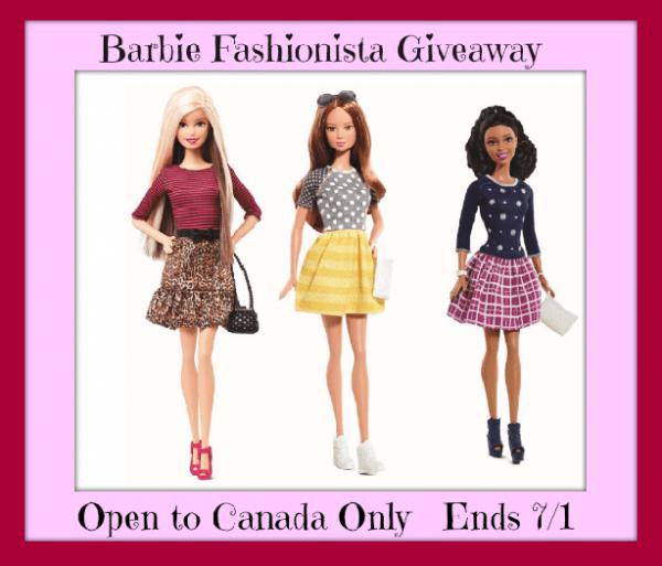 barbie fashionista button