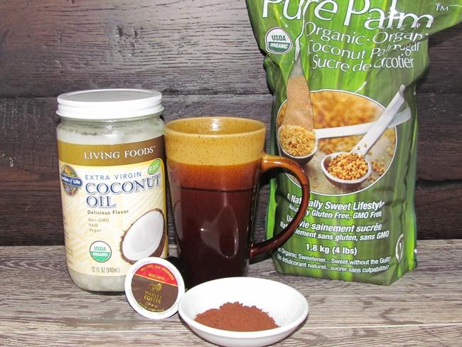 garden of life coconut oil bulletproof coffee