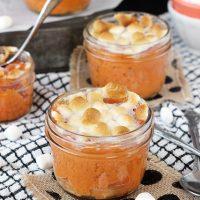 2. Mashed Sweet Potato Mallow Jars