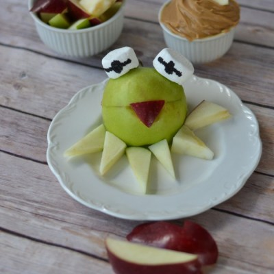 The Muppets Kermit Apple Treats Recipe