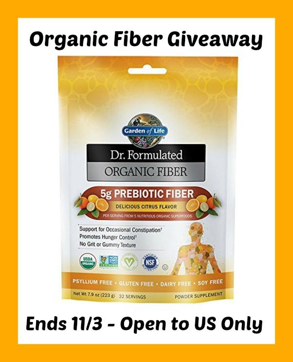 garden of life dr. formulated fiber
