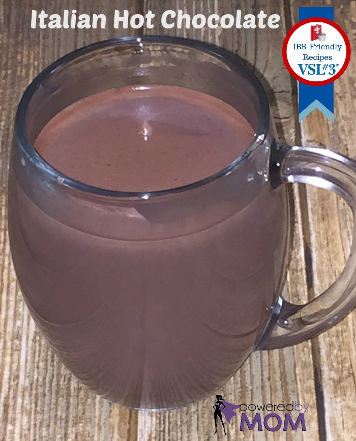 Italian Hot Chocolate IBS Friendly