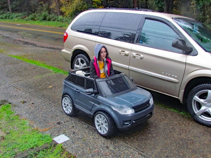 Range Rover Powered Ride with Van
