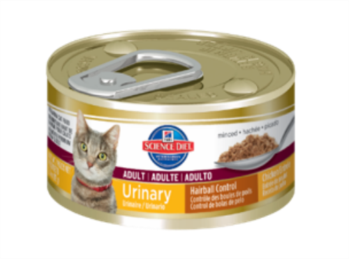 HIlls science diet urinary and hairball control wet food