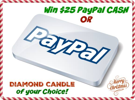 paypal diamond candle