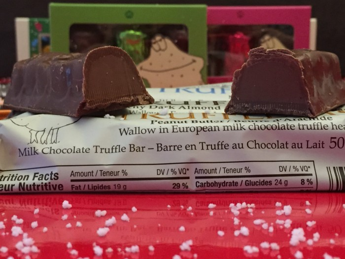 Hagensborg chocolates peanut butter Pig Truffle Bar