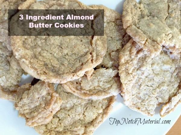 almondbutter cookies