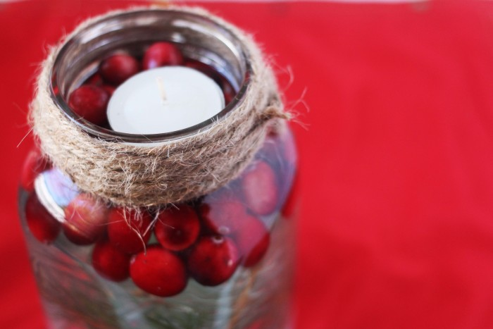 diy mason jar candle