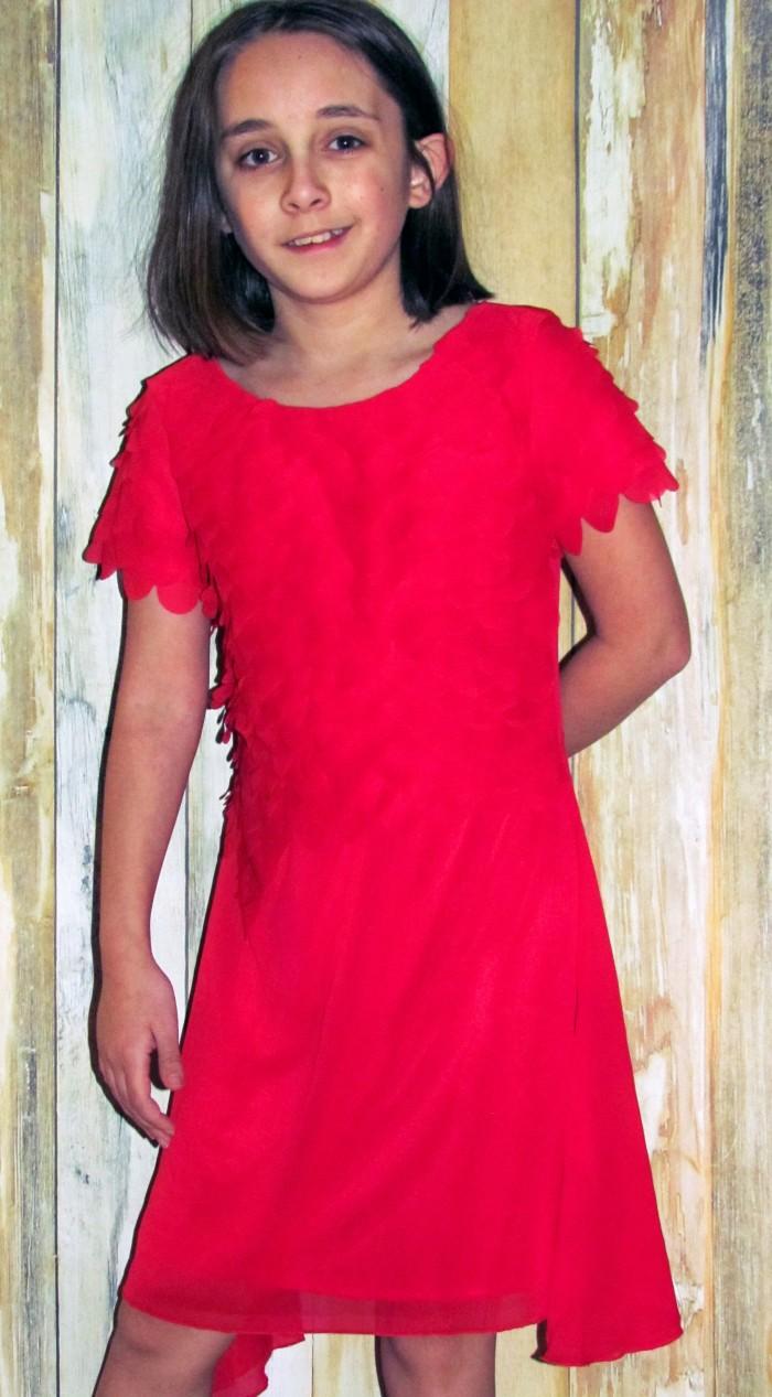 limeapple red dress
