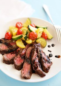 20. SkilletBalsamicSkirtSteak