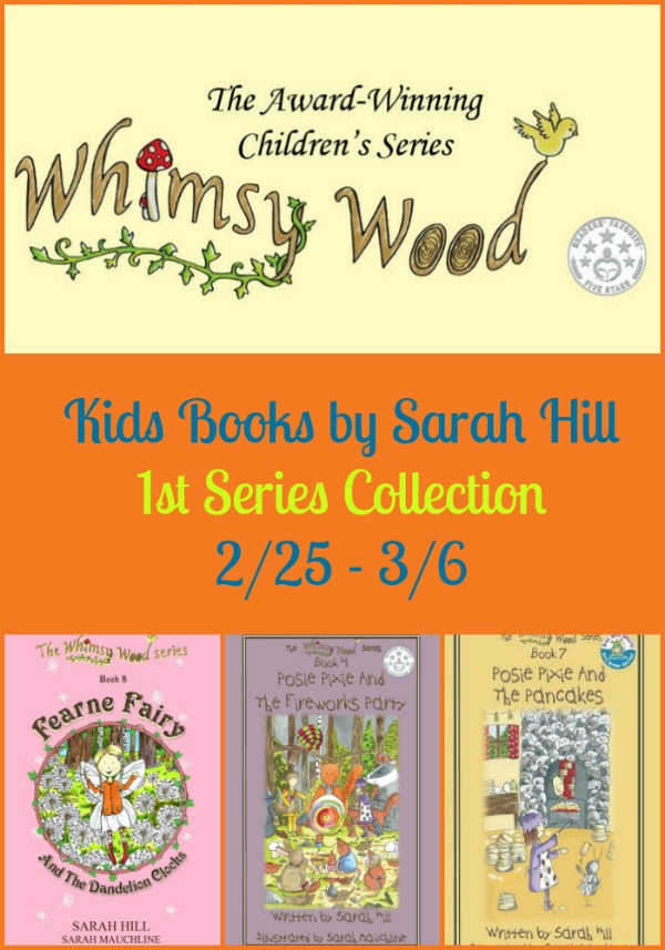 Whimsy Wood Books collection giveaway