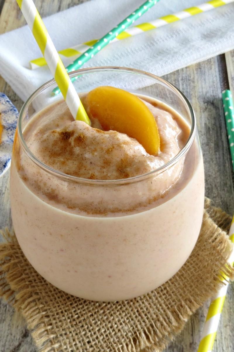 Peaches and Cream Smoothie Recipe