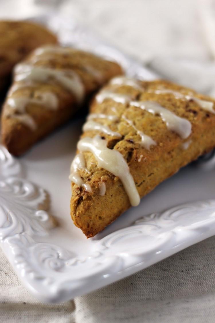 pumpkin spice scones (5)