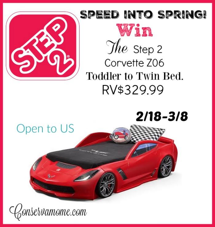 corvette toddler bed