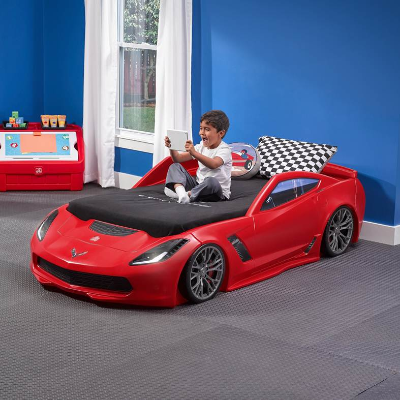 step 2 corvette toddler bed