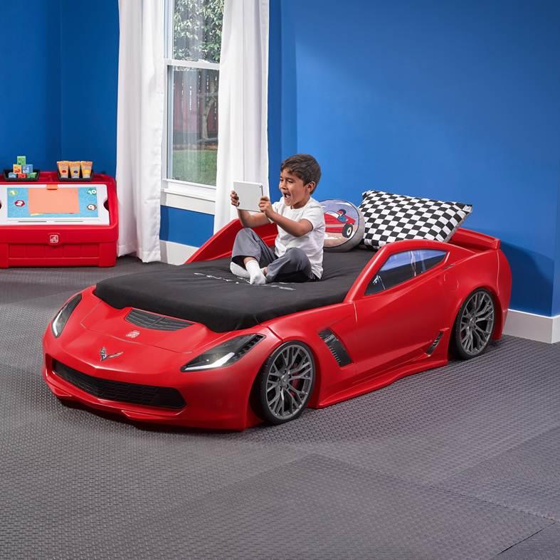step 2 corvette toddler bed