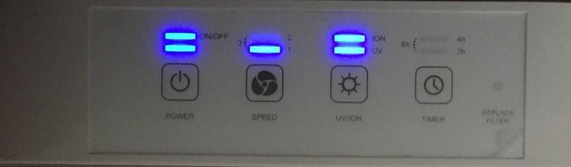 guardian controls lit up