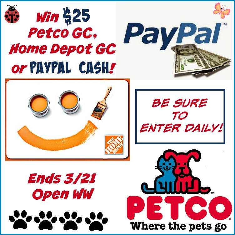 paypal petco amazon march
