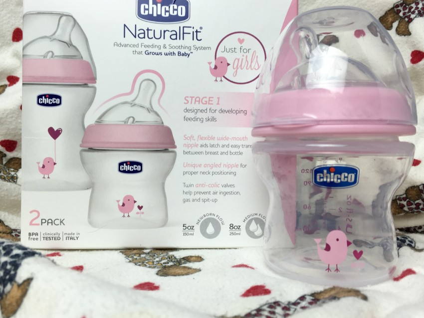Chicco NaturalFit Baby Bottles for girls