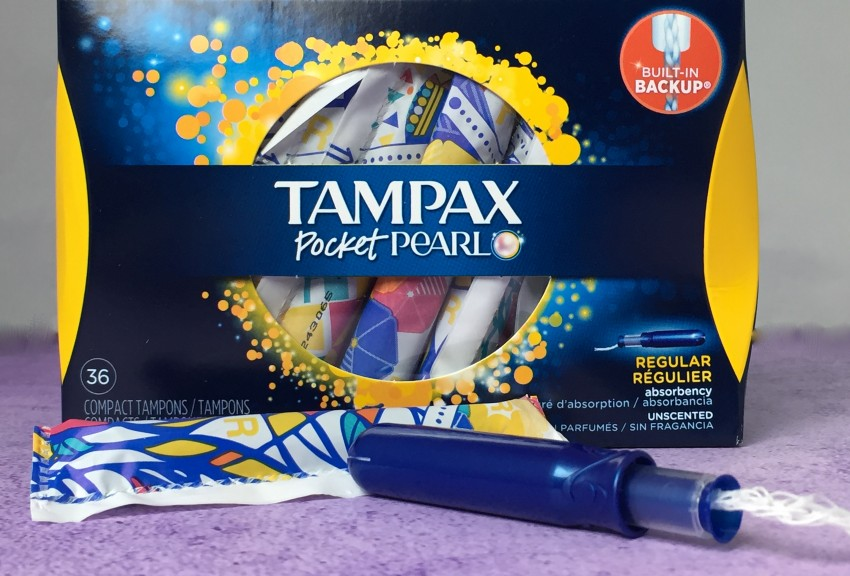 Teens with tampons