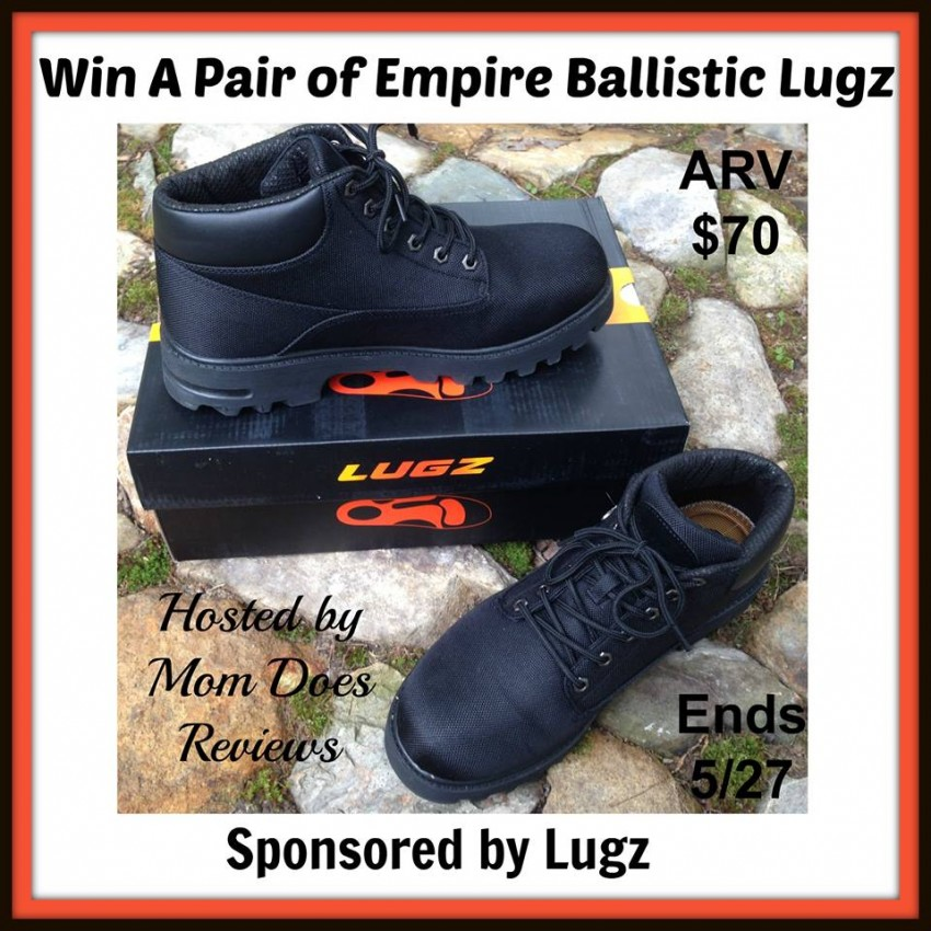 648e4b8af342 Lugz Empire Ballistic Giveaway - Powered By Mom