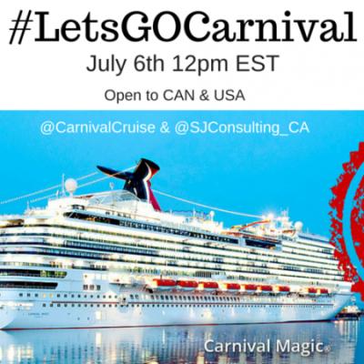 Cruising on the Carnival Magic!