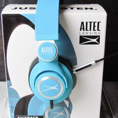 Altec Lansing Kickback Headphones Review