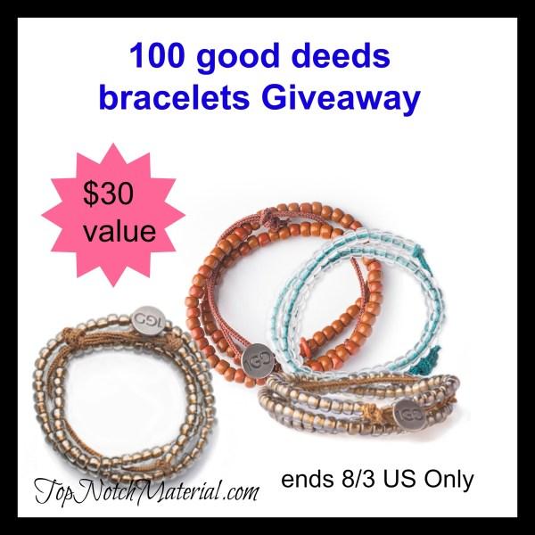 bracelet giveaway