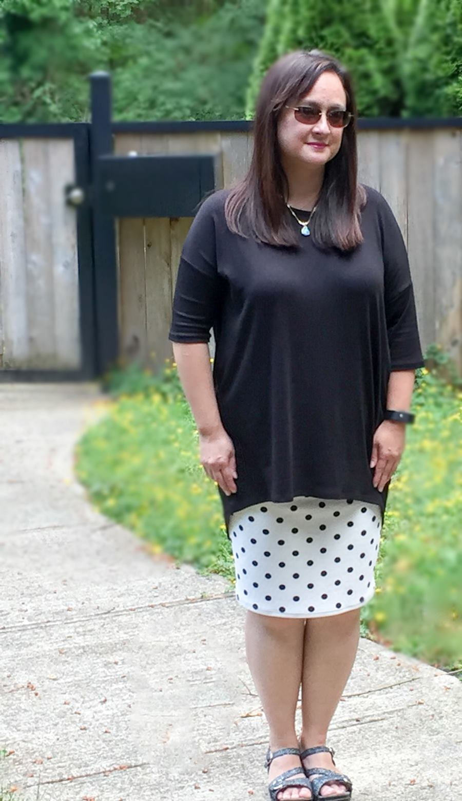 542f551077d1b LuLaRoe clothes are not sloppy you can get quite dressed up in them. As  mentioned Jenni and her daughter-in-law Jade over at LuLaRoe Belles asked  me if I ...