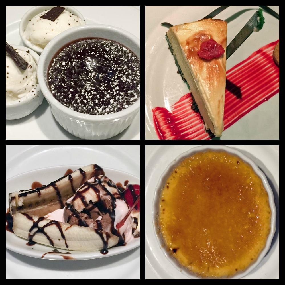 Carnival Magic Desserts