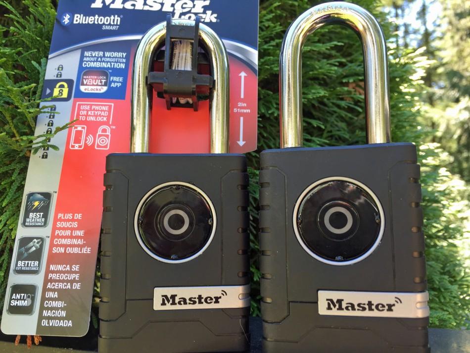 Outdoor Bluetooth Padlock