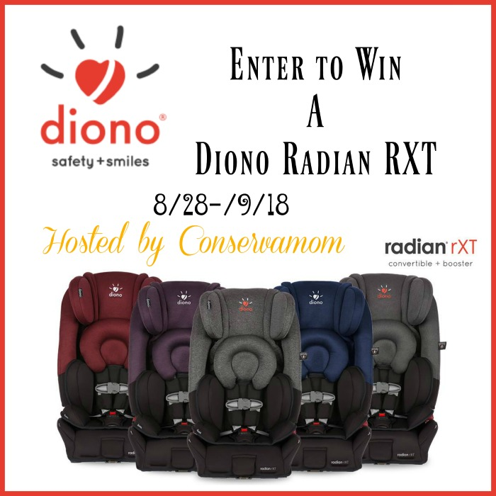 Diono Radian RXT Car Seat Giveaway - Powered By Mom