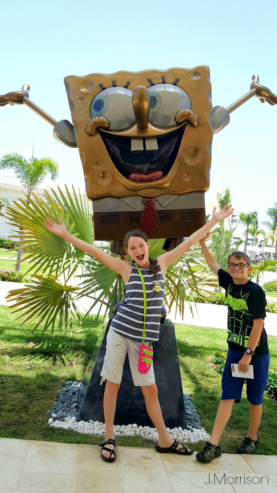 Family fun at the Nickelodeon Resort in Punta Cana
