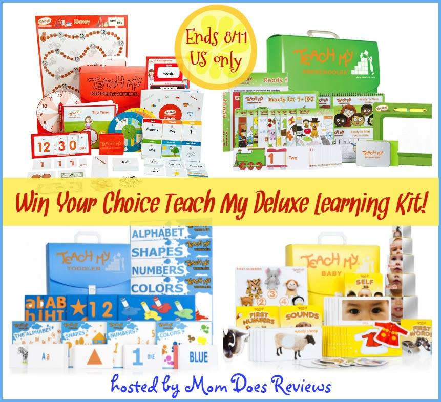 teach my deluxe learning kit