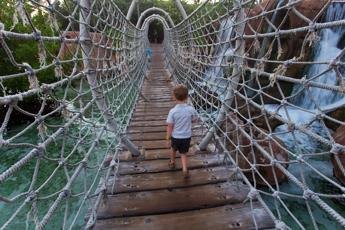 Atlantis Rope Bridge