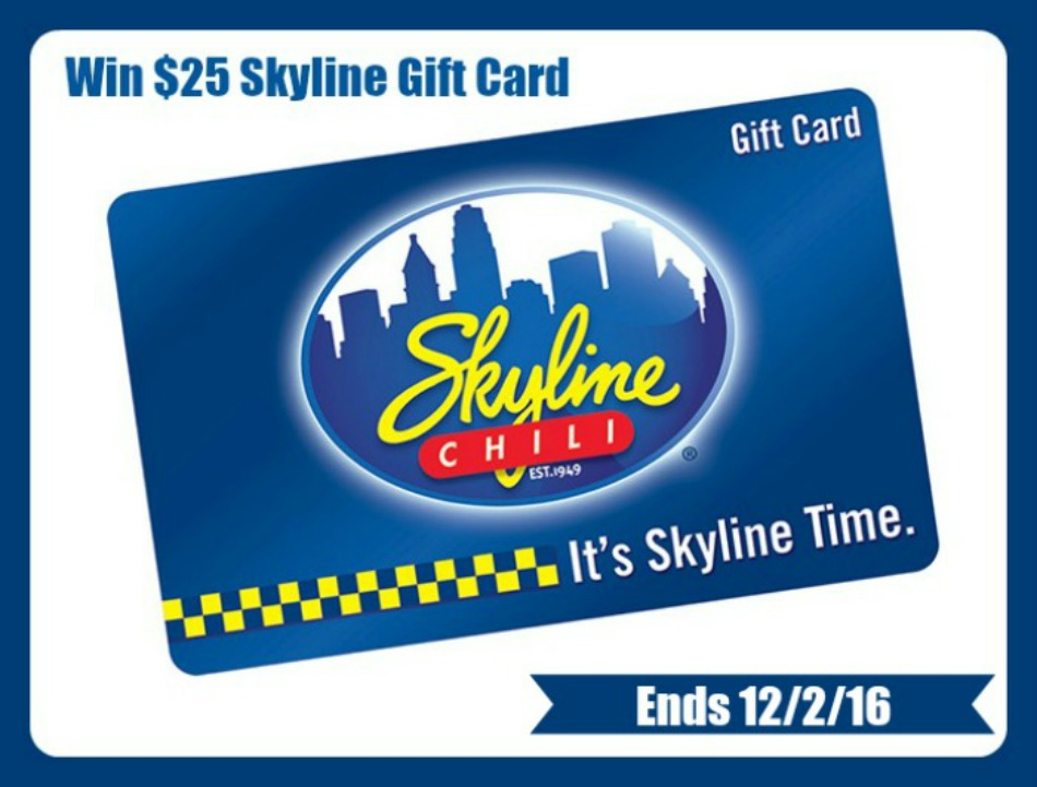 $25 Skyline Gift Card Giveaway!