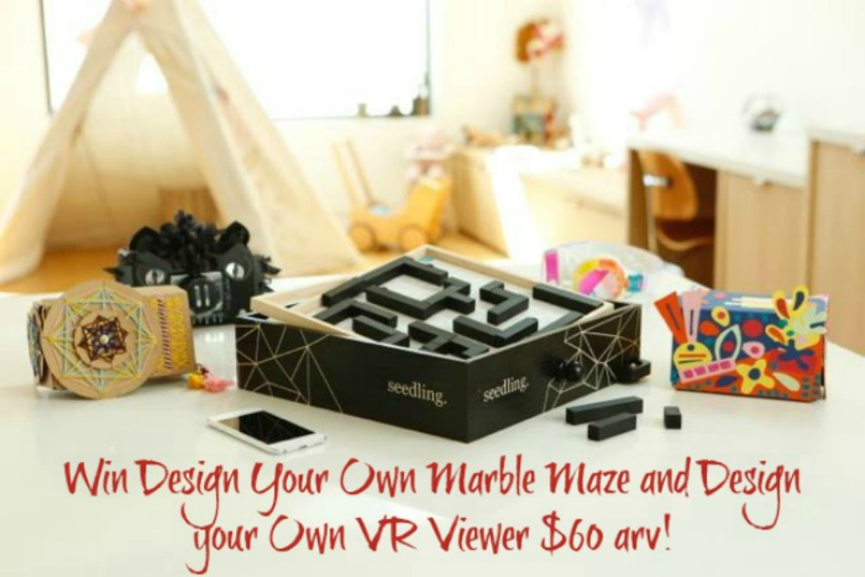 DIY Marble Maze and VR Viewer from Seedling giveaway button