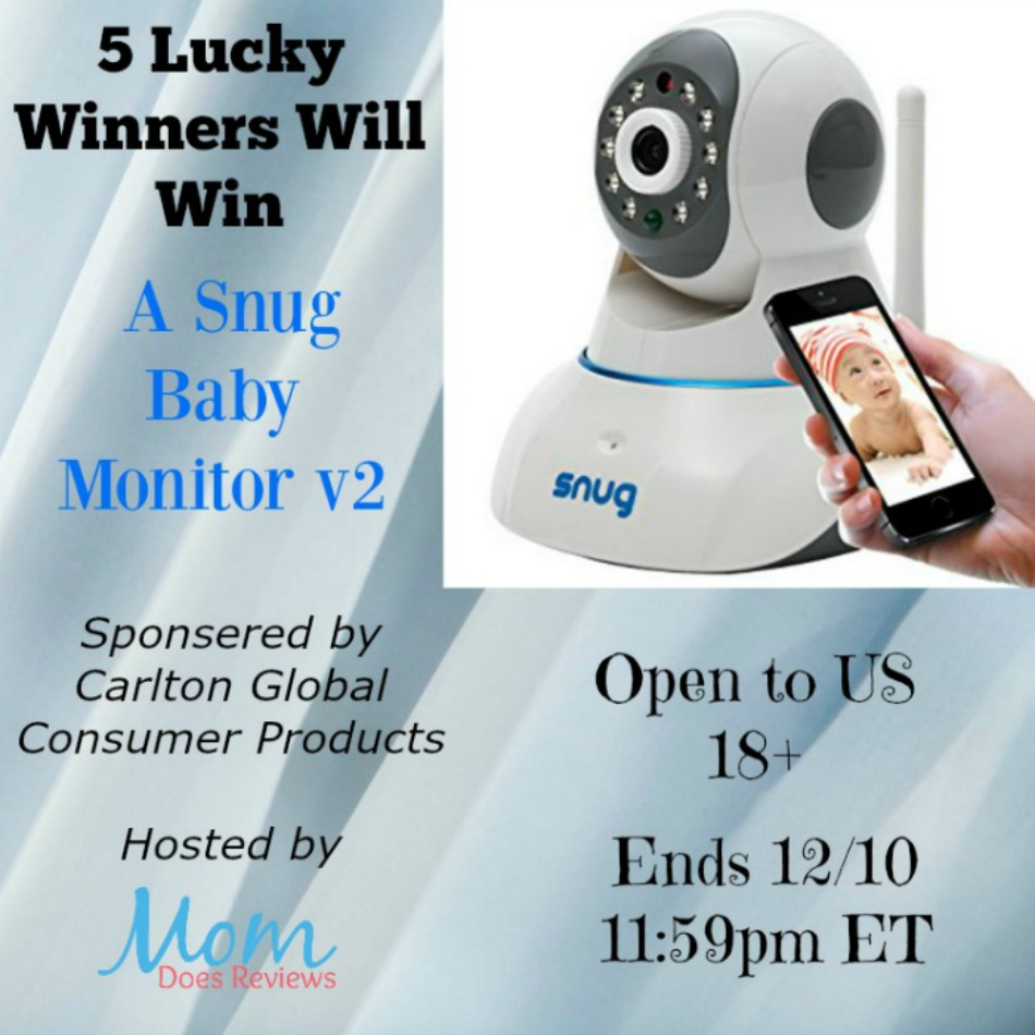 Snug Baby Monitor Giveaway