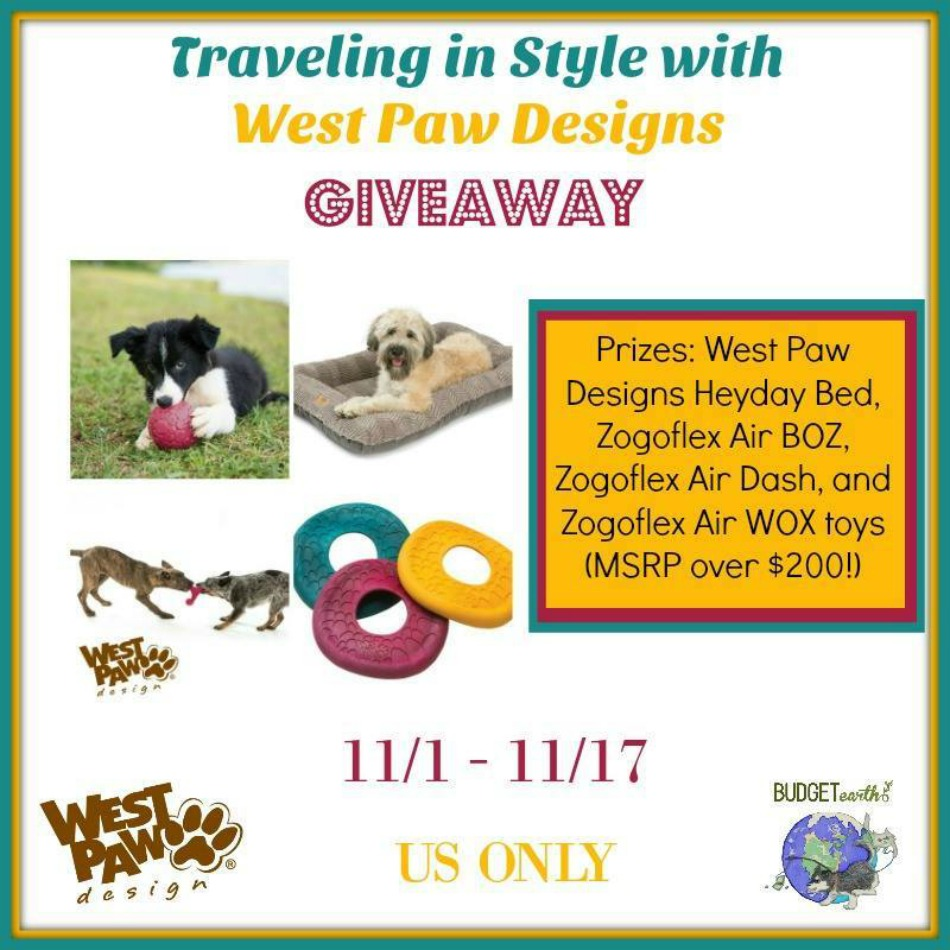 West Paw Prize Pack Giveaway