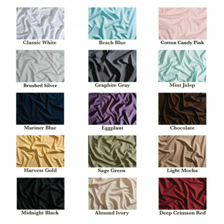 Luxurious PeachSkinSheets Colors