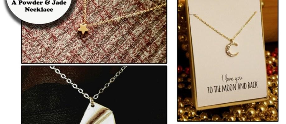 Powder & Jade Necklace Giveaway!