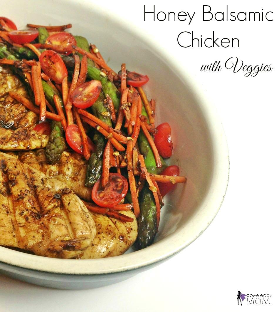 Honey Balsamic Chicken and Veggies banner 2