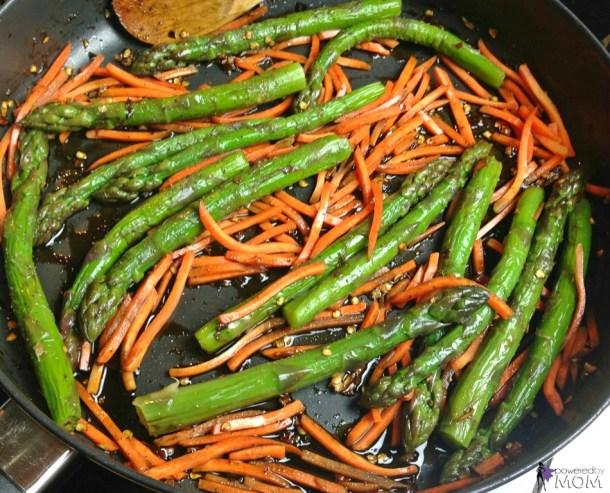 Honey Balsamic Chicken and Veggies process 5b