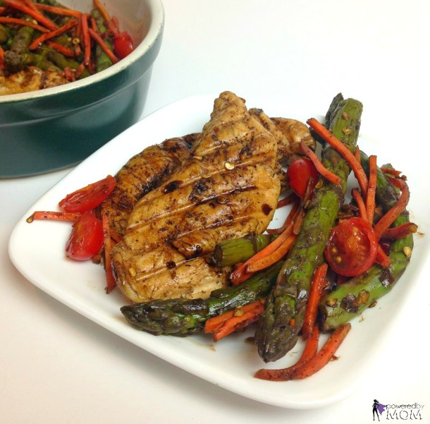 Honey Balsamic Chicken with Veggies Recipe