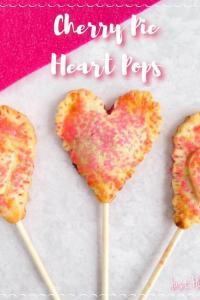 Cherry Pie Heart Pops Recipe