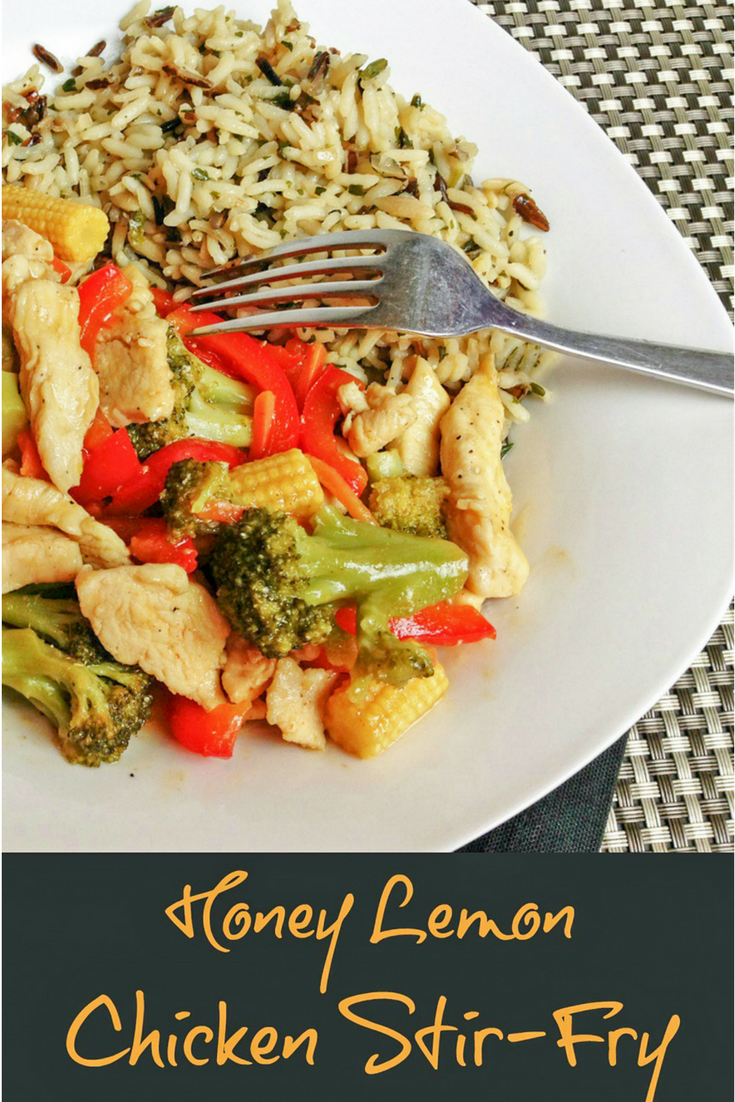 Honey Lemon Chicken Stir Fry